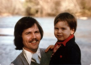 Dad and Me by the Chattahoochee