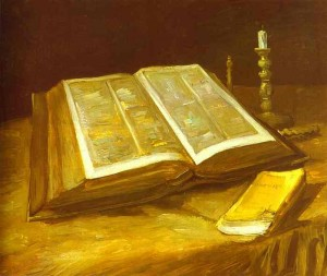 Still Life with Open Bible - Vincent van Gogh