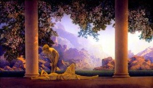 """Daybreak"" - Maxfield Parrish"