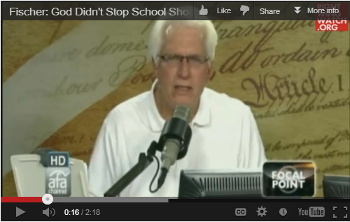 Bryan Fischer makes an idiot of himself