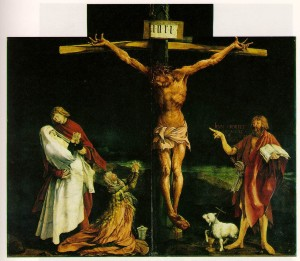 Crucifixion - by Grunewald