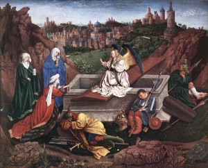The Empty Tomb by van Eyck