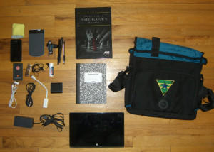 Skooba Tablet Messenger v.3 - Contents