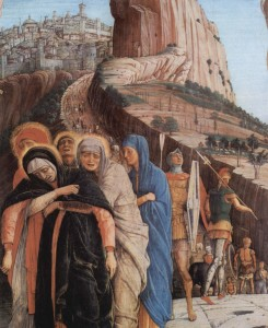 Women at the Crucifixion - Andres Mantegna