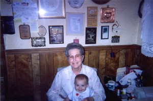 Pictured with my Grandma Sue, in the kitchen where she taught me a master class in how to love someone.