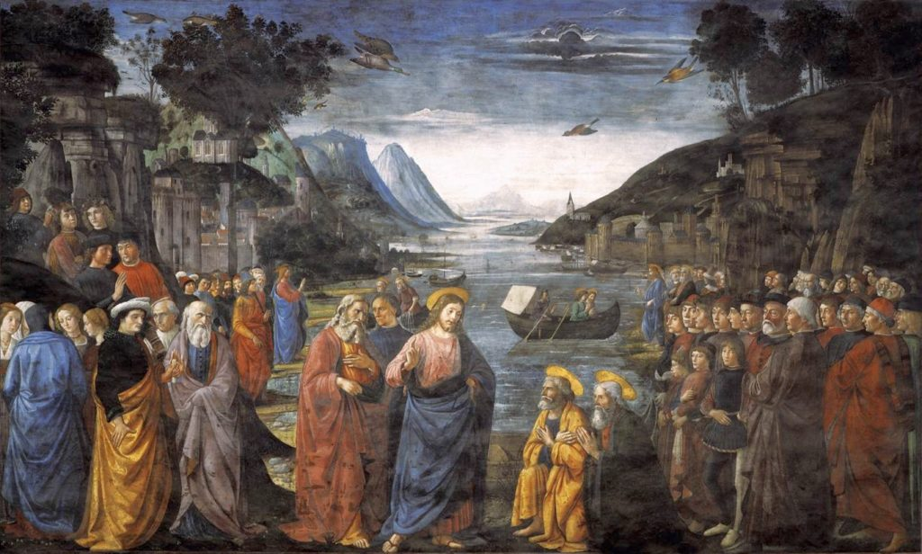 Calling of the Apostles - Domenicio Ghirlandaio -1481